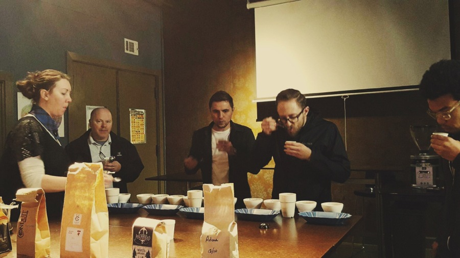 Visions' First Annual Bi-coastal HolidayCupping
