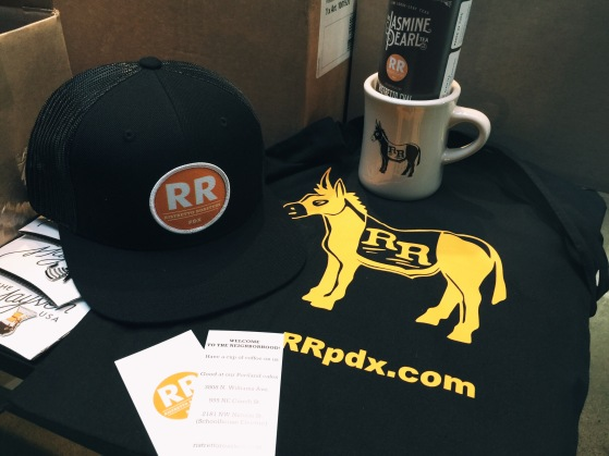 Raffle prizes thanks to Ristretto Roasters out of Portland Oregon!