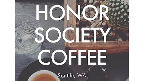 Visions In Focus Roaster: Honor SocietyCoffee